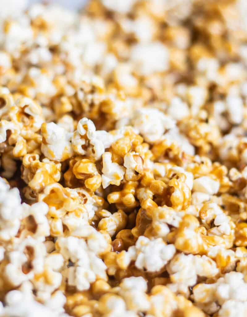 unbaked caramel popcorn