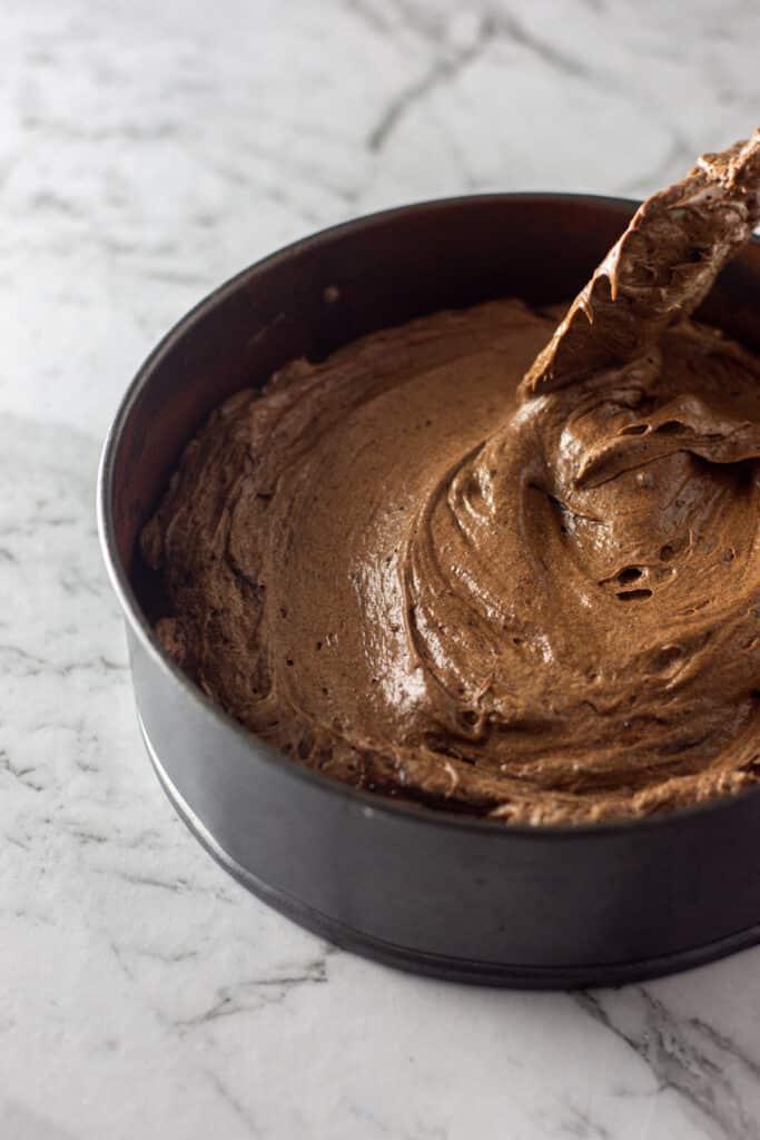 gluten free chocolate cake batter