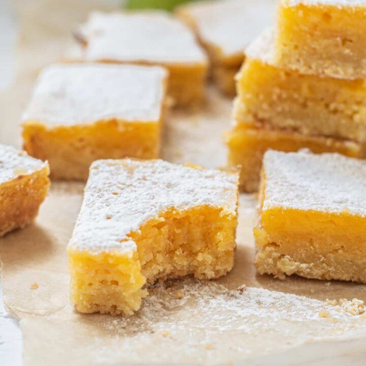 stacked lime bars